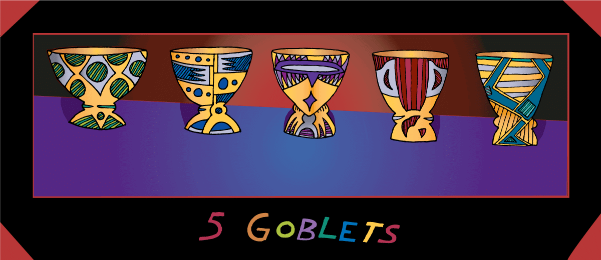 five goblets by nick lethert